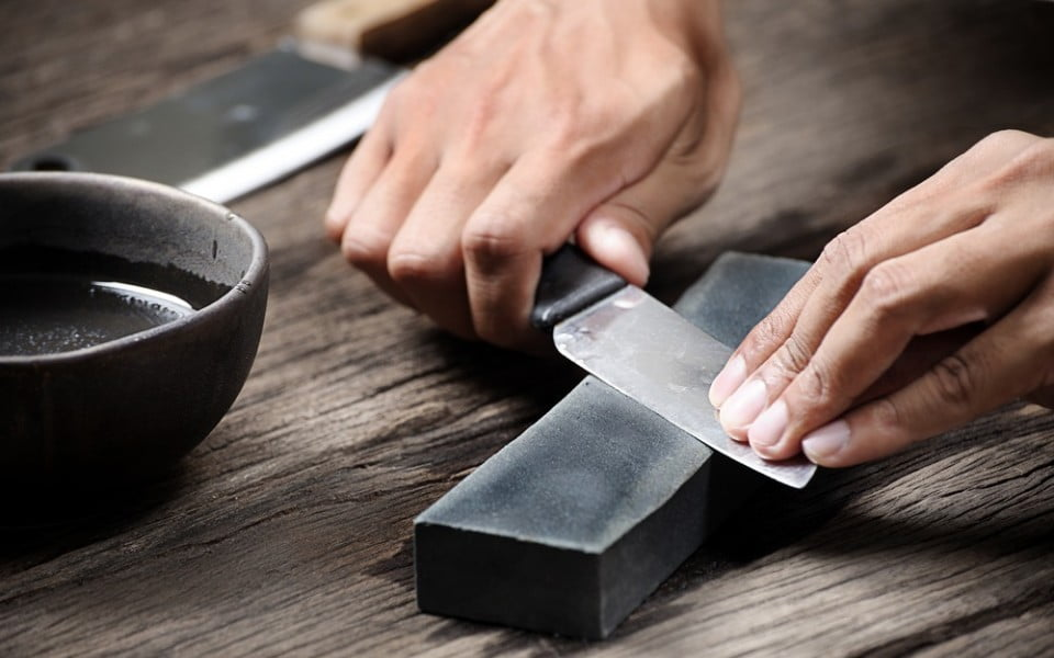 tips menajamkan pisau dapur